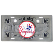 New York Yankees Collector's Licence Plate