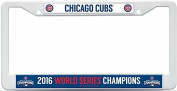 Chicago Cubs 2016 World Series Champions Plastic Licence Plate Cover 13210