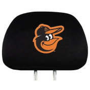 MLB Baltimore Orioles Auto Headrest Covers Set of Two
