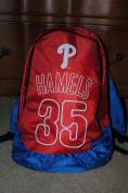 PHILADELPHIA PHILLIES HALLADAY R. #34 DOUBLE COMPARTMENT LUNCH COOLER