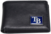 MLB Men's Leather RFiD Safe Travel Wallet