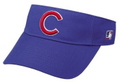 Chicago Cubs Officially Licenced MLB Adjustable Hook and loop Adult Visor