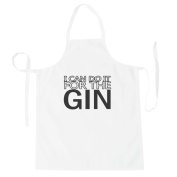 I can do it for the GIN Novelty Apron aa94b