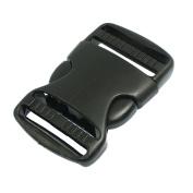 3.8cm Replacement Belt Connecting Black Plastic Quick Release Buckle