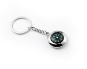 Compass Keyring - Metal Keychain