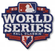 2012 MLB World Series Logo Jersey Sleeve Patch Fall Classic Detroit Tigers vs. San Francisco Giants