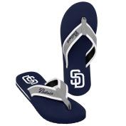 MLB San Diego Padres Men's 2013 Contour Flip Flop, Large, Blue