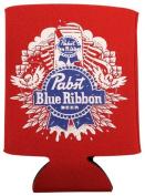 Pabst Blue Ribbon PBR 350ml Art Design Beer Koozie