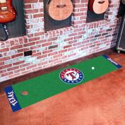 Fanmats Texas Rangers Sports Team Logo Home Office Putting Green Runner 46cm x 180cm Floor Mat