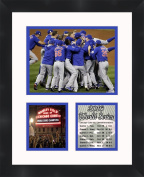 Chicago Cubs 2016 World Series Photo Collage Framed 11X14