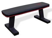 Marcy Deluxe Versatile Flat Bench – Steel Frame