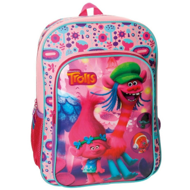 Trolls School Backpack, pink (pink) - 4822351