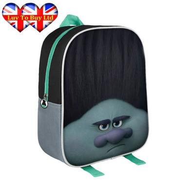 3D Trolls Backpack, Official Licenced Trolls