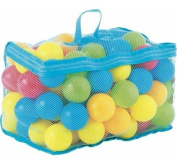 Tech Traders ® 100 Multi Coloured Play Balls