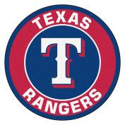 FANMATS 18153 MLB Texas Rangers Roundel Mat