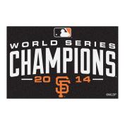 FANMATS 17361 Giants 2014 World Series Champions Starter Rug