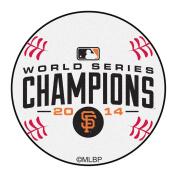 FANMATS 17366 Giants 2014 World Series Champions Baseball Mat