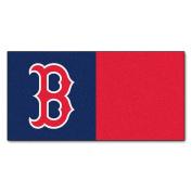 FANMATS MLB Boston Red Sox Nylon Face Team Carpet Tiles