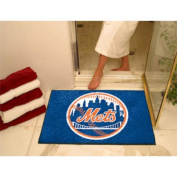 Fanmats Home Indoor Sports Team Logo Mat New York Mets All-Star Rugs 90cm x 110cm