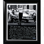 MLB New York Yankees Framed 22x26 Joe Pepitone Facsimile 'Stickball' Story Stretched Canvas