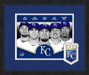 MLB Kansas City Royals 2014 Team Composite Framed Photograph, 33cm x 41cm