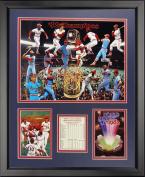 Legends Never Die 1982 St. Louis Cardinals Champions Framed Photo Collage, 41cm x 50cm