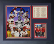 Legends Never Die St. Louis Cardinals Retired Numbers Framed Photo Collage, 28cm x 36cm