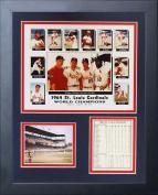 Legends Never Die 1964 St. Louis Cardinals Framed Photo Collage, 28cm x 36cm