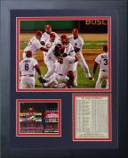 Legends Never Die 2011 St. Louis Cardinals Field Celebration Framed Photo Collage, 28cm x 36cm