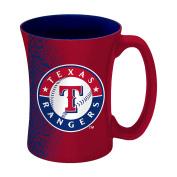 MLB Texas Rangers Sculpted Mocha Mug, 410ml