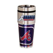 Atlanta Braves 470ml Stainless Steel Travel Tumbler/Mug