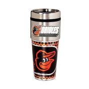 Baltimore Orioles 470ml Stainless Steel Travel Tumbler/Mug