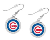 Chicago Cubs Crystal Earrings