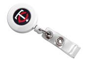 Aminco International Minnesota Twins Retractable Badge Reel Id Ticket Clip Mlb