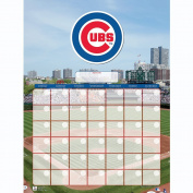NBL Chicago Cubs Jumbo Dry Erase Sports Calendar