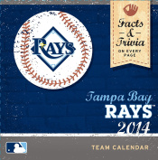 Turner - Perfect Timing 2014 Tampa Bay Rays Box Calendar