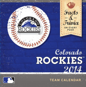 Turner - Perfect Timing 2014 Colorado Rockies Box Calendar