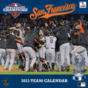 Turner 2012 World Series Champions San Francisco Giants Wall Calendar, January 2013 - December 2013