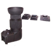 1-2X Right View Angle Finder for Canon 70D,60D,50D,80D,1300D,1200D,1100D,750D,700D,650D,600D Nikon D3400 D7200,D5300,D5200,D3200,D3300,D90,Olympus,Pentax Leica Contax DSLR Camera