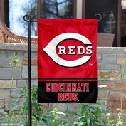 Cincinnati Reds Double Sided Garden Flag