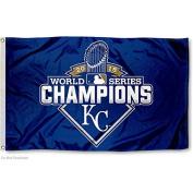 Kansas City Royals 2015 World Series Flag and Banner