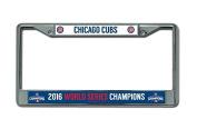 MLB Chicago Cubs World Series Chrome Frame, 30cm , Blue