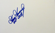 GOOSE GOSSAGE HOF 2008 Hand SIGNED Autographed 5x8 Index Card New York Yankees w/COA
