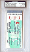 Don Drysdale & Ron Fairly Signed Ticket - PSA/DNA Authenticated - MLB Baseball Tickets