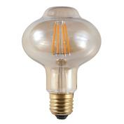 4w Decorative LED Filament Vintage Lantern Light Bulb ES E27 Screw Cap Trailing Edge LED Dimmable