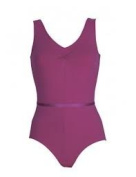 Freed of London Faith Ballet Leotard - Mulberry 11-13yrs