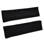 Black Elastic Sports Protective Shin Splint Sleeve Calf Support