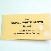 10 x Tweeten WHITE Snooker Pool Table Spot Marking Stickers - Self Adhesive