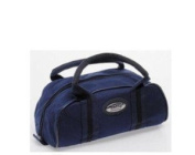 ND Sports Crown Green Quality Nylon Zip Bowling Bag For 2 Balls