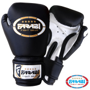 120ml Kids Boxing Gloves Junior Mitts mma Synthetic Leather Sparring Gloves Black